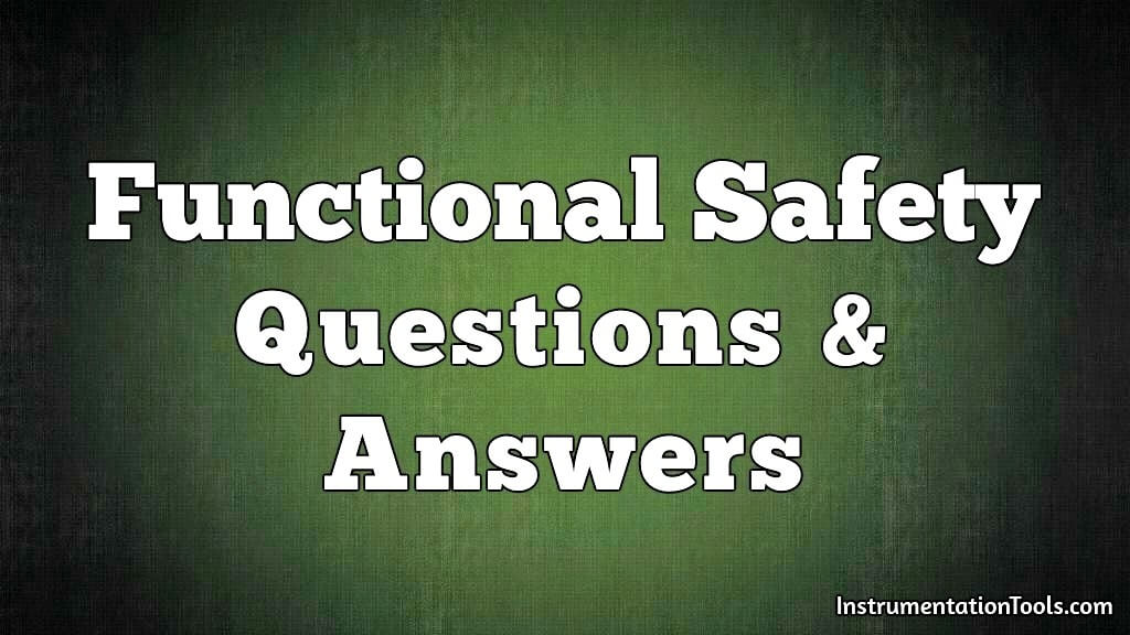 Functional Safety Exam Questions & Answers