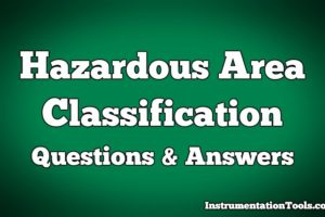 Hazardous Area Questions & Answers