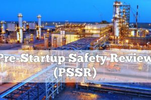 Pre-Startup Safety Review (PSSR)