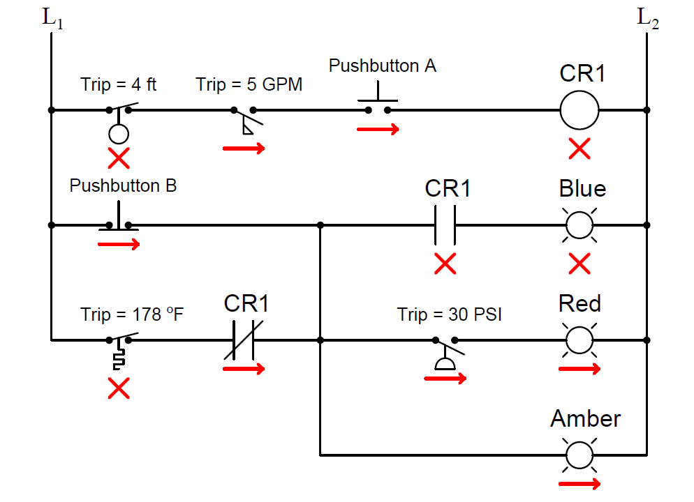 process conditions, Find out the Circuit Components