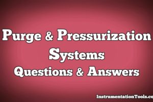Purge & Pressurization Systems Questions