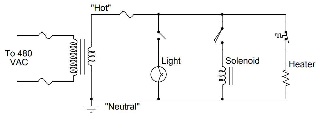 Relay Schematic example