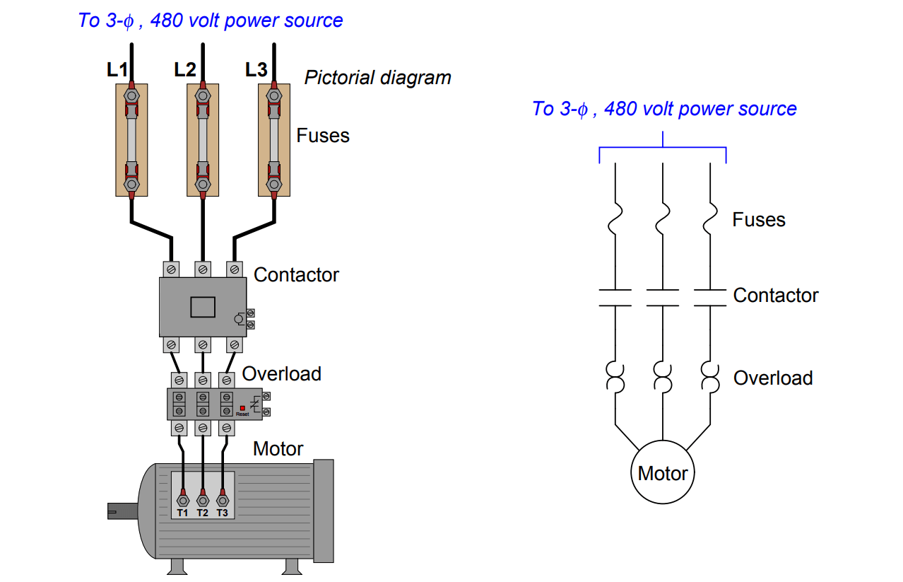 three-phase motor control circuits