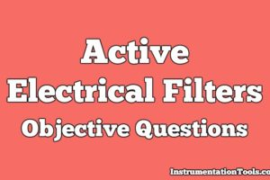 Active Electrical Filters