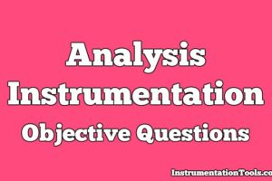 Analysis Instrumentation Objective Questions