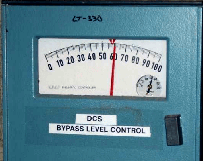 Level Indicator Display Scale