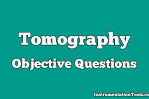 Tomography Objective Questions