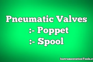 Types of Pneumatic Valves