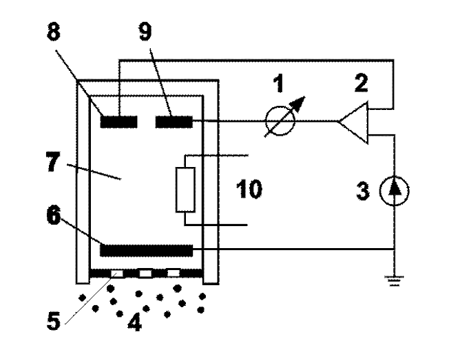 Gas Detector Internal Circuit