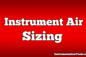 Instrument Air Sizing