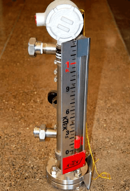 Float Level Gauge Installation