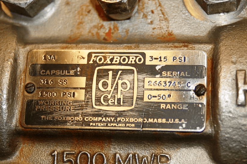 Foxboro model 13A differential pressure
