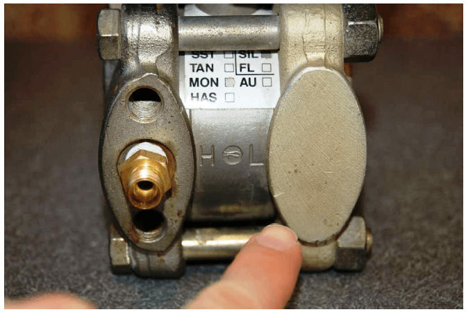 differential pressure transmitter High Pressure Port