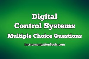 Digital Control Systems Multiple Choice Questions