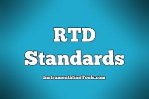 RTD Standards list