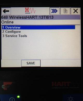 Wireless HART Transmitter Configuration - 2