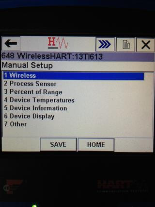 Wireless HART Transmitter Configuration - 4