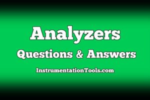 Analyzers Questions and Answers