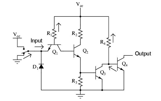 Buffer Gate Circuit Operation - 1