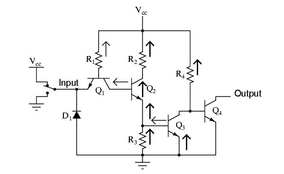 Buffer Gate Circuit Operation
