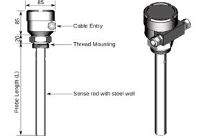 Capacitance-Level-Transmitter
