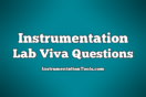 Instrumentation Lab Viva Questions