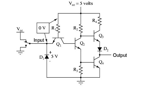 Practical NOT Circuit - 1
