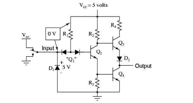 Practical NOT Circuit - 2