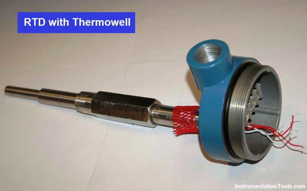 RTD with Thermowell