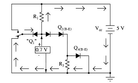 Two Back to Back Diodes for NOT Gate Operation - 3