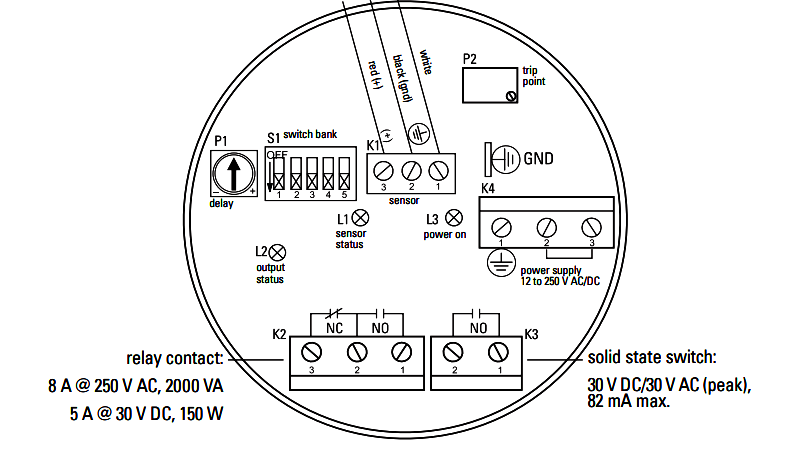 level switch wiring connection