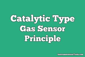 Catalytic Gas Sensor Working