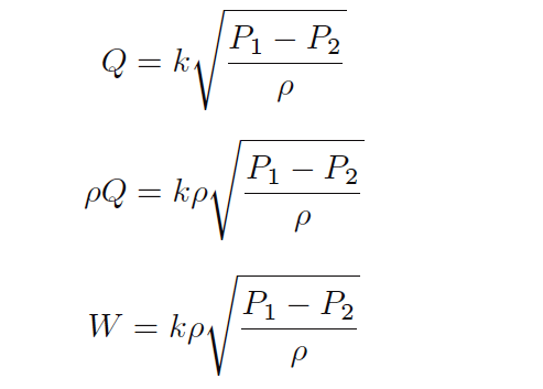 Mass Flow Calculations