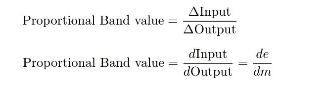Proportional band equation