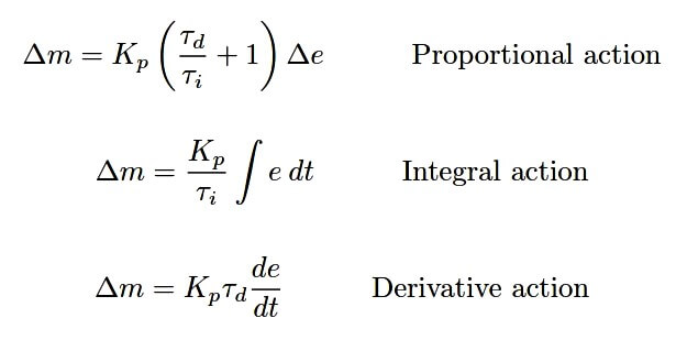 Series PID Controller Equation