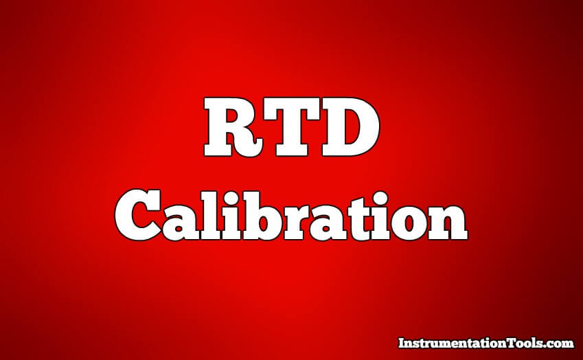 RTD Calibration