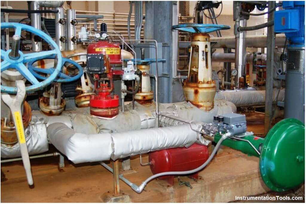 Control boiler feedwater
