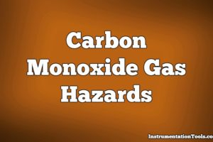 Carbon Monoxide Gas Hazards