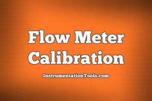 Flow Meter Calibration Procedure
