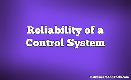 Reliability of a Control System