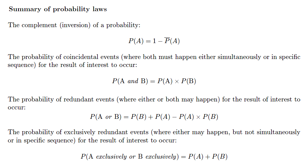 probability laws