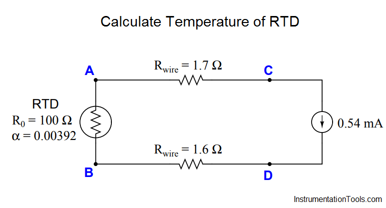 Calculate Temperature Of Rtd Instrumentation Tools