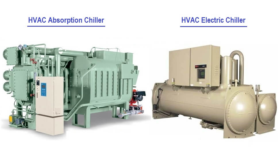 Comparison of Absorption Chillers and Electric (Compression) Chillers
