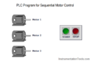 PLC Program for Sequential Motor Control