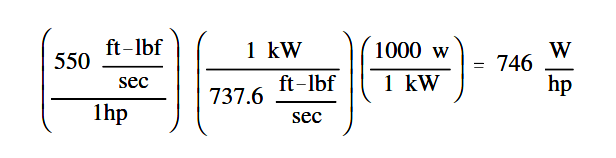 AC generator Losses equation