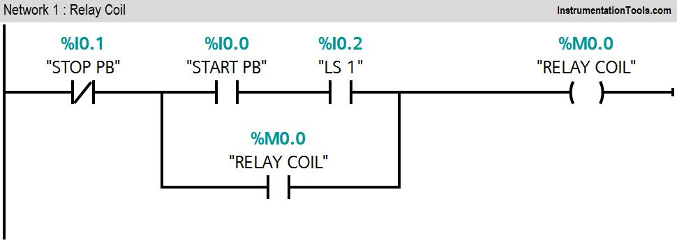PLC Ladder Logic for Stamping Control