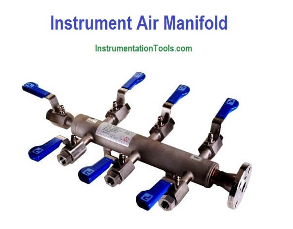 What is Instrument Air Manifold