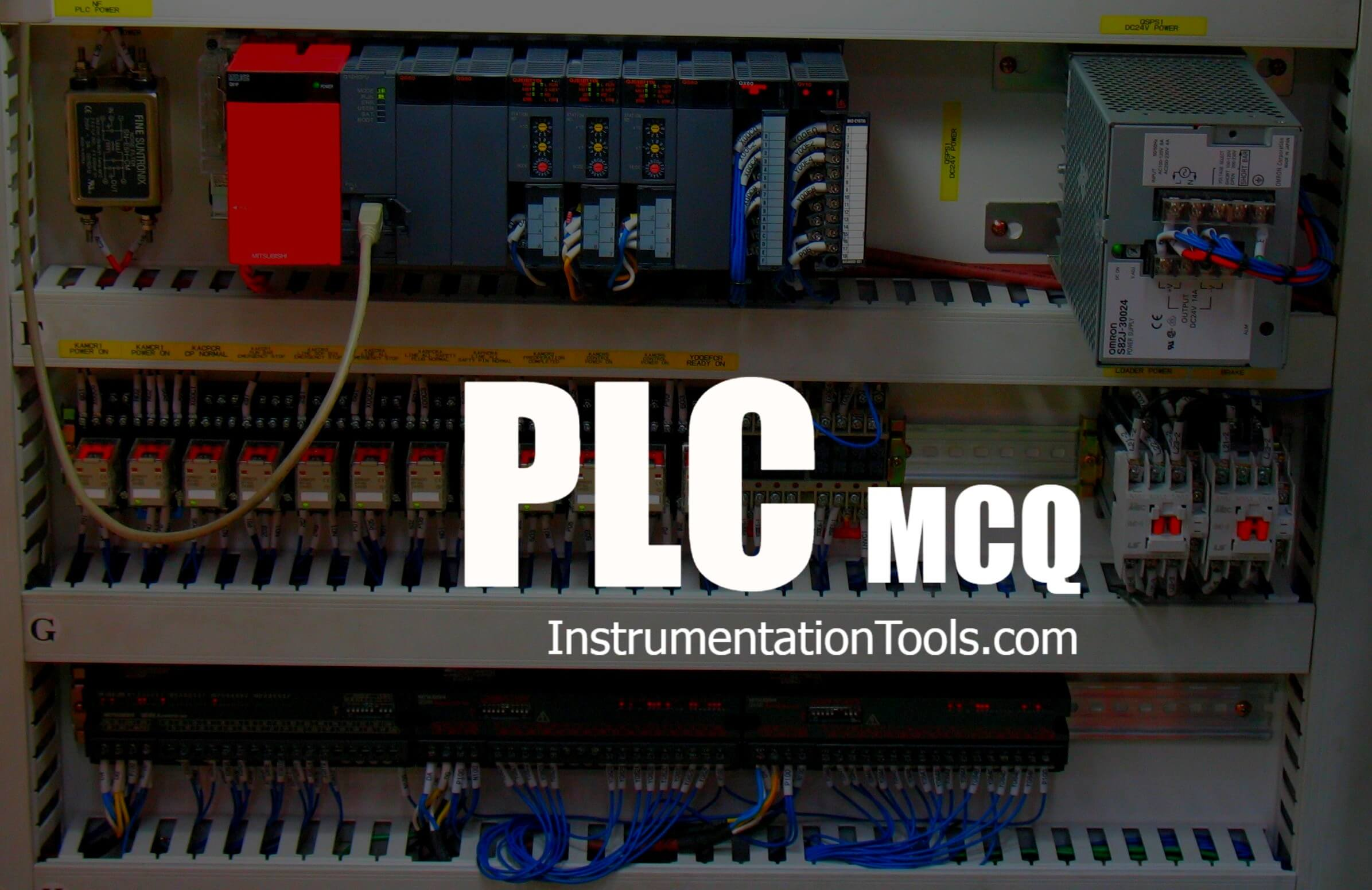 MCQ on PLC (Programmable Logic Controller)