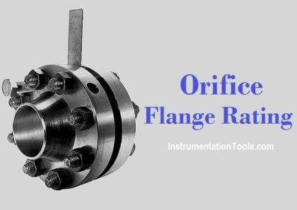 Orifice Flange Rating