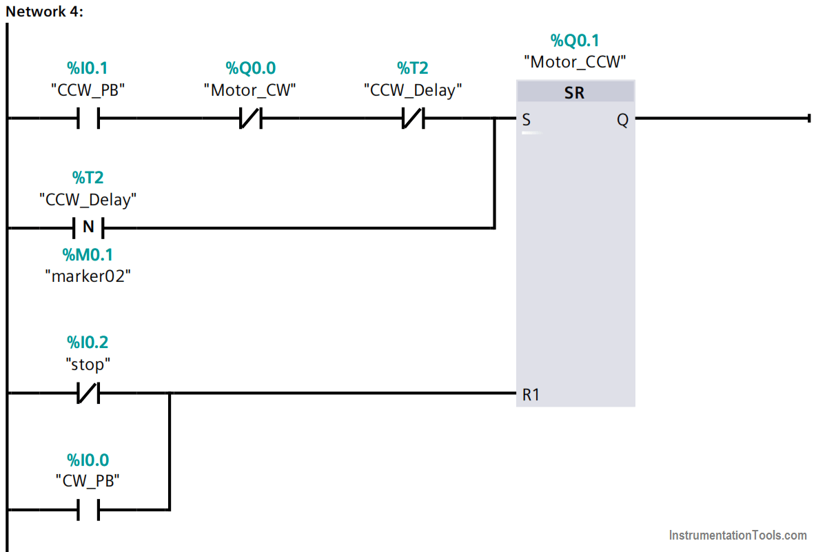 Forward reverse motor control diagram with timer